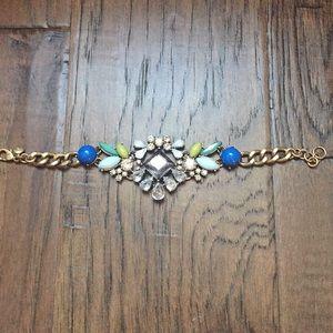 J. Crew Bracelet Gold Tone